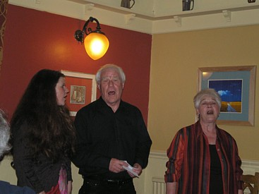 Jane, Ron and Jean Ellison